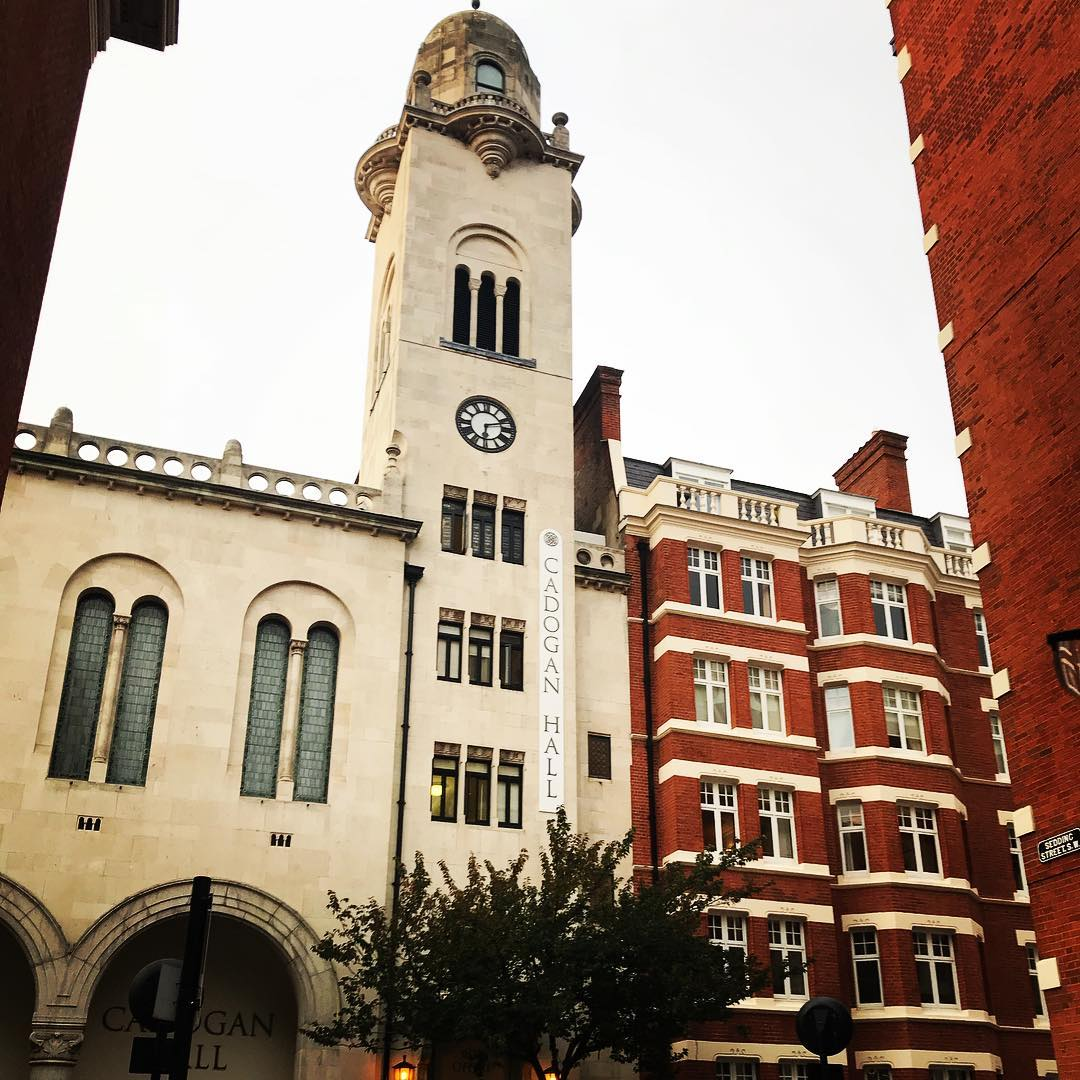 Cadogan Hall. One more night to go. <a href='https://stephenpieper.net/tag/bigbigtrain/' rel='tag'>#bigbigtrain</a> <a href='https://stephenpieper.net/tag/cadoganhall/' rel='tag'>#cadoganhall</a>