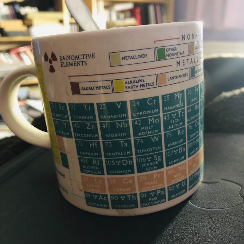 Periodic Table Tea Mug