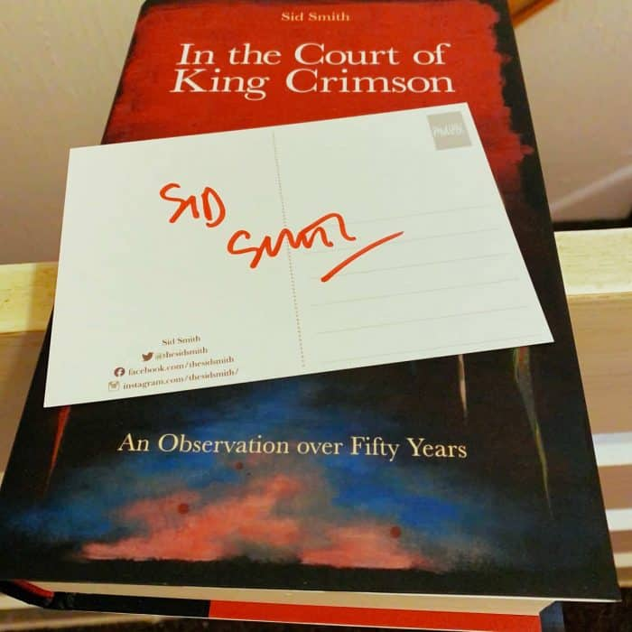 Book. In The Court Of King Crimson by Sid Smith.